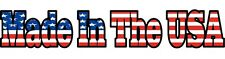 Made In The USA decal Sticker truck car window American