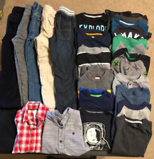Large Lot Boys Kids Winter Clothes Size Xs 5 Pants Shirts Jeans Old Navy Gap