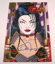 Shi Way of the Warrior #1 Signed by Billy Tucci! 1st Print CRUSADE COMICS 1994