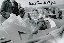Maria Teresa de Filippis Hand Signed Maserati 12x8 Photo 3.