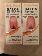 (2 Sets) Sally Hansen Salon Effects Real Nail Polish Strips 510 Get the Point