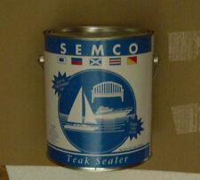 Semco 1 Gallon Teak Sealer Treatment Honey Tone Finish Sealant Protector New