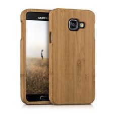 kwmobile Holz Schutz Hülle für Samsung Galaxy A3 (2016) Bambusholz Natur Hard
