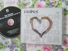 Frames The– Turn On Your Record Player Island Records CIDDJ 546 PROMO CD Single