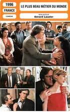 FICHE CINEMA : LE PLUS BEAU METIER DU MONDE - Depardieu,Laroque,Zem,Lauzier 1996