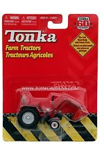 2007 Tonka 60th Anniversary Farm Tractors Red with Silver Wheels Shovel
