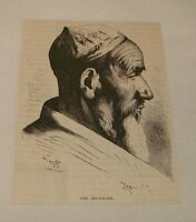1876 magazine engraving ~ THE SIN-EATER, Turkistan