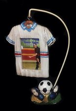 Kids Soccer Jersey Hanging Picture Frame with Sports Photo Stand NEW