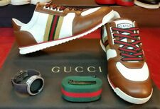 Authentic Gucci shoes mens 233334 size 10.5g 11.5us, gucci sneakers mens 11.5u.s