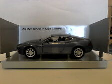 MONDO MOTORS 1:24 AUTO DIE CAST ASTON MARTIN DB9 COUPE GRIGIO SCURO METAL. 51048
