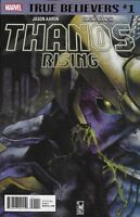 Thanos Rising Comic Issue 1 Classic Reprint True Believers Modern Age 2018 Aaron