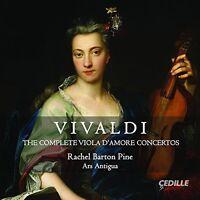 Vivaldi / Pine / Ars - Complete Viola D'amore Concertos [New CD]