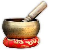 "5""Tibetan Buddhist Singing-Hand beaten singing bowl,Free Cushion and Striker"