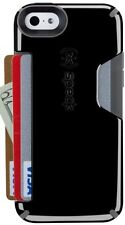 Speck Products CandyShell Card Case for iPhone 5c - Black/Slate Grey