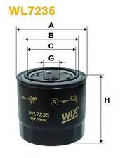 WIX FILTERS WL7235 OIL FILTER  RC516928P OE QUALITY