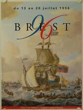 Affiche Fête Maritime BREST 1996