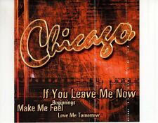 CD CHICAGO	if you leave me know	EX+ (R3324)