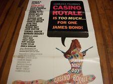 Casino Royale   1 sheet poster  1967