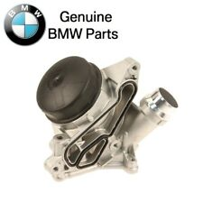 For BMW 1 2 3 Series Oil Filter Housing w/ Cover Cap Filter & Gaskets Genuine