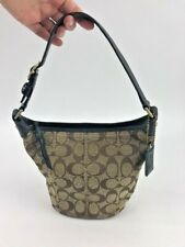 Coach Tote Bleeker Top Handle Purse Handbag 40896 Signature Jacquard Mini
