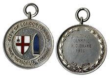 London Football War Memorial Silver Medal From 1926