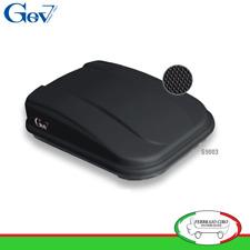 Gev S9003 - BOX BAULE UNIVERSALE PORTABAGAGLI AUTO SPAZIO 420 LT NERO OPACO