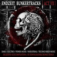 ENDZEIT BUNKERTRACKS 7 4CD BOX 2015 SITD Combichrist AGONOIZE