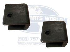 Peterbilt Hood Bumpers (Pair) Fits 359 - NEW 13-03114 13-03114