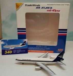 Aviation 400 1:400 Tradewinds Cargo L-1011 Tristar N311EA Lockheed 270/340