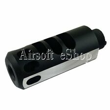Airsoft 5Ku Type 2 Aluminum Compensator for Marui Hi-Capa 5.1 Gbb Black