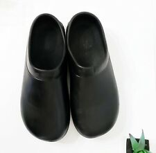 SR Max SRM7500 Hatteras Work Clog Shoes Slip Resistant Unisex Women's 10 BLACK