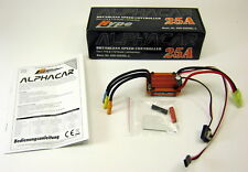 Hype 059-3025SL-L Alphacar Brushless Speed Controller 1/16 1/18