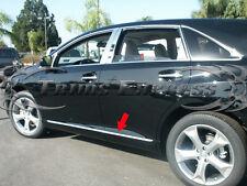 "2007-2013 Mazda CX-7 CX7 4Pc Chrome Lower Flat Body Side Moulding Trim 1"""