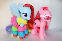 My Little Pony MLP Fashion Style Pinkie Pie Rainbow Dash Lot 6 Inch Figures