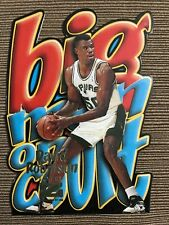 1996-97 Skybox Z-Force Big Men on Court David Robinson #10