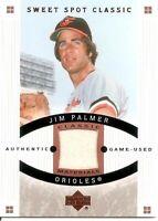 2005 Upper Deck Jim Palmer Sweet Spot Classic Memorabilia