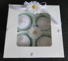 BABY GIFT SET BOX CUPCAKE SOCKS UNISEX/ BABY SHOWER,MUM-TO-BE