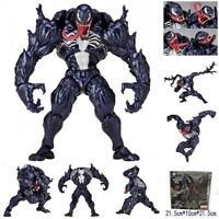 "7 ""Miracle Spider-Man Venom 003 Revoltech Series PVC Figurine Articulée Jouets"