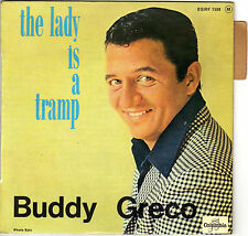BUDDY  GRECO THE LADY IS A TRAMP FRENCH ORIG EP