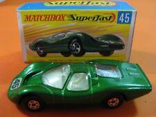 VINTAGE 60/70´S MATCHBOX LESNEY SUPERFAST Nº45 FORD GROUP 6