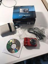 Fujifilm FinePix AX250 14MP  HD Camera No Card.  Red