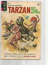 TARZAN OF THE APES #205 VF- VERY FINE-  OW/WHITE PAGES BRONZE AGE 1971 GOLD KEY