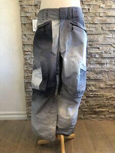 """BURTON """"AK"""" GORE-TEX men's striped snowboard ski snowmobile winter pants-LARGE"""