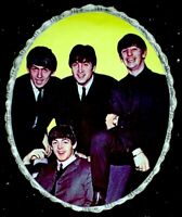 "Beatles 1964 Vintage Pinup Portrait John Paul George Ringo 7x9"" Original NM COA"