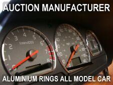 Volvo S40 V40  1995-2000   Aluminium Polished Chrome Dial Rings Set Of 3 New