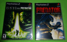 EMPTY CASES!  Aliens vs. Predator: Extinction Jungle Sony PlayStation 2 PS2