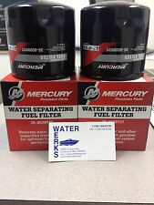 Mercury Water Separating Fuel Filter 35-802893T Outboard & Sterndrive 2 PACK
