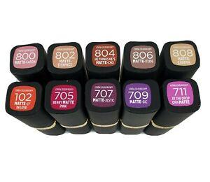 Loreal Colour Riche Matte Lipstick 0.13 oz - Choose Shade