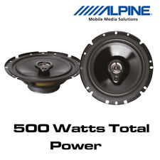 """Alpine SXV-1735E - 6.5"""" 16.5cm 3-Way Car Coaxial Speakers 500W Total Power"""