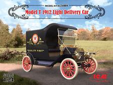 ICM Ford Model T 1912 Light Delivery Car 1:24 Bausatz Model Kit 24008 Oldtimer